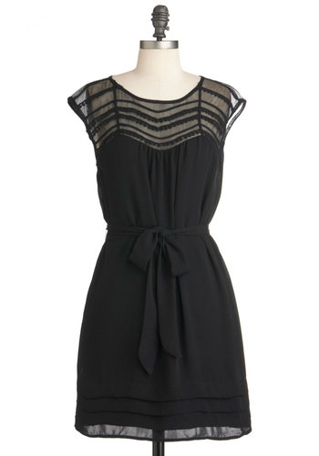 robe noire modcloth