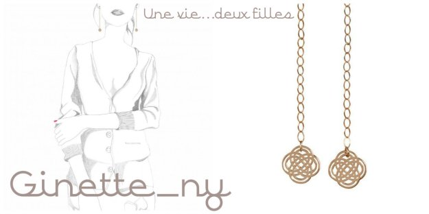 Boucles d'oreilles or ginette_ny