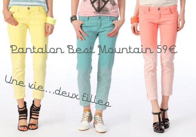 pantalon best mountain tie and dye