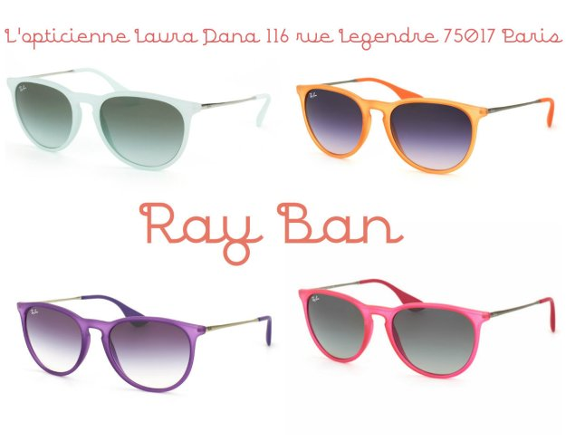 Ray ban L'Opticienne Laura Dana 116 rue legendre 75017 paris